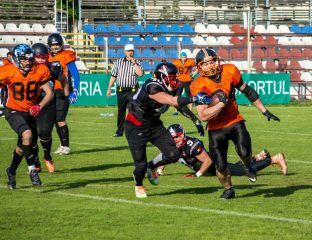 Bucharest Warriors @ Bucharest Rebels CNFA 2017