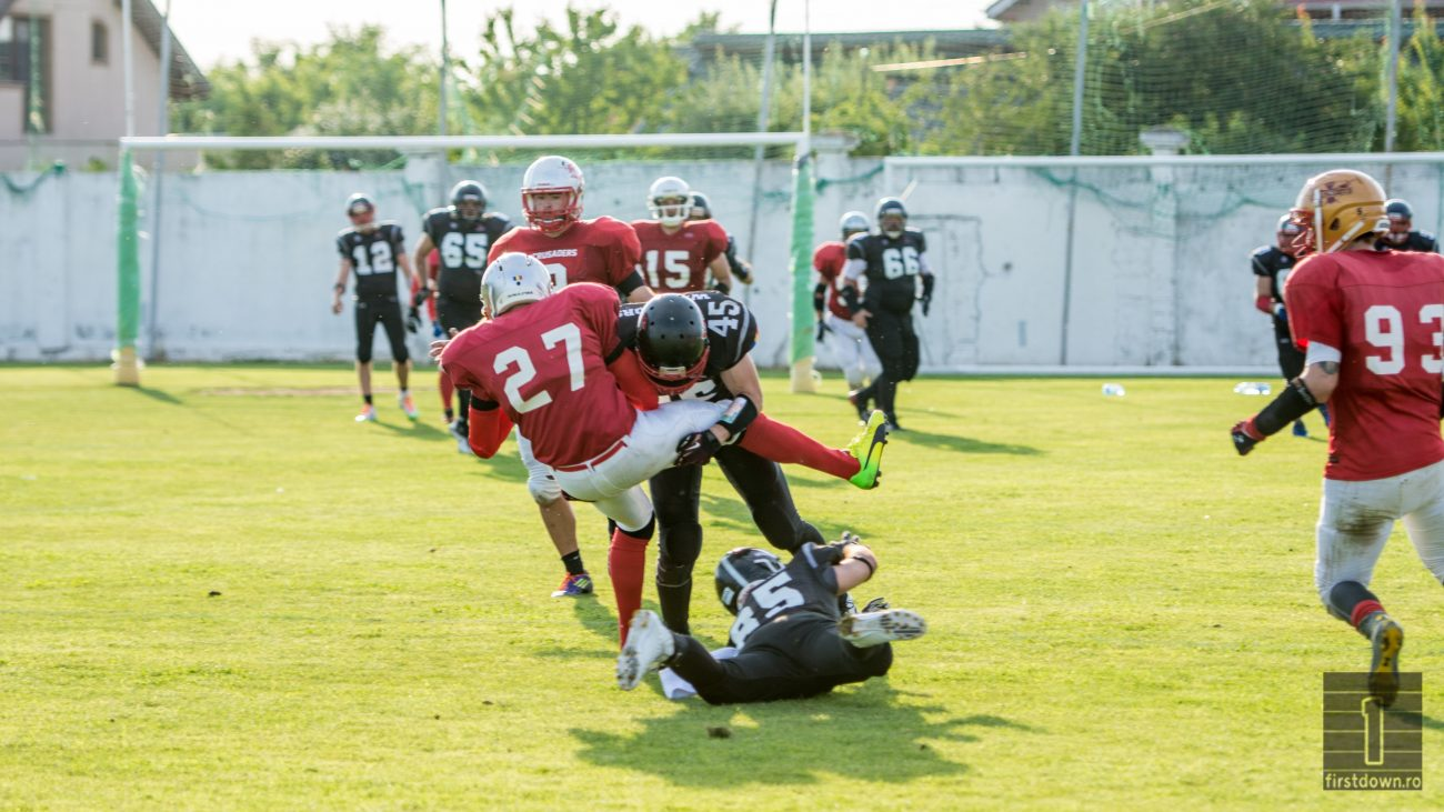 Bucharest Warriors Cluj Crusaders RoBowl VIII