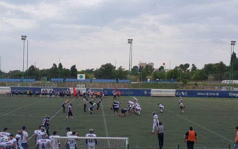 Bucharest Rebels Timisoara 89ers semifinale