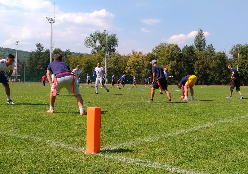 Flag Football 2017 Cluj Crusaders