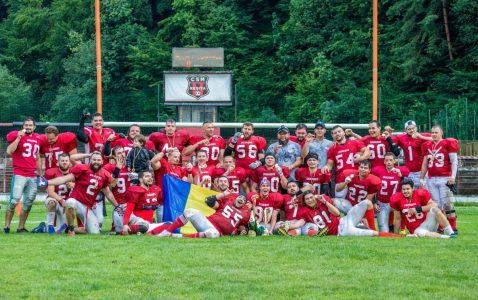 Cluj Crusaders RoBowl 9 champions