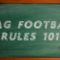 flag football rules 101