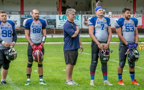 Bucharest Rebels 2018 - CNFA RoBowl IX