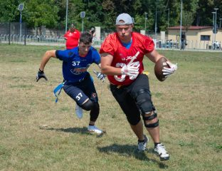 Flag football romania