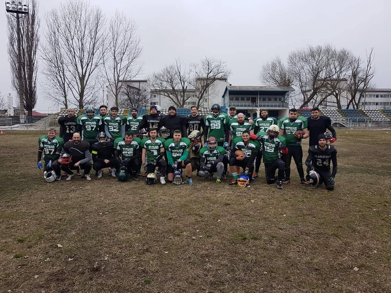 Giurgiu Gladiators Bucharest Titans
