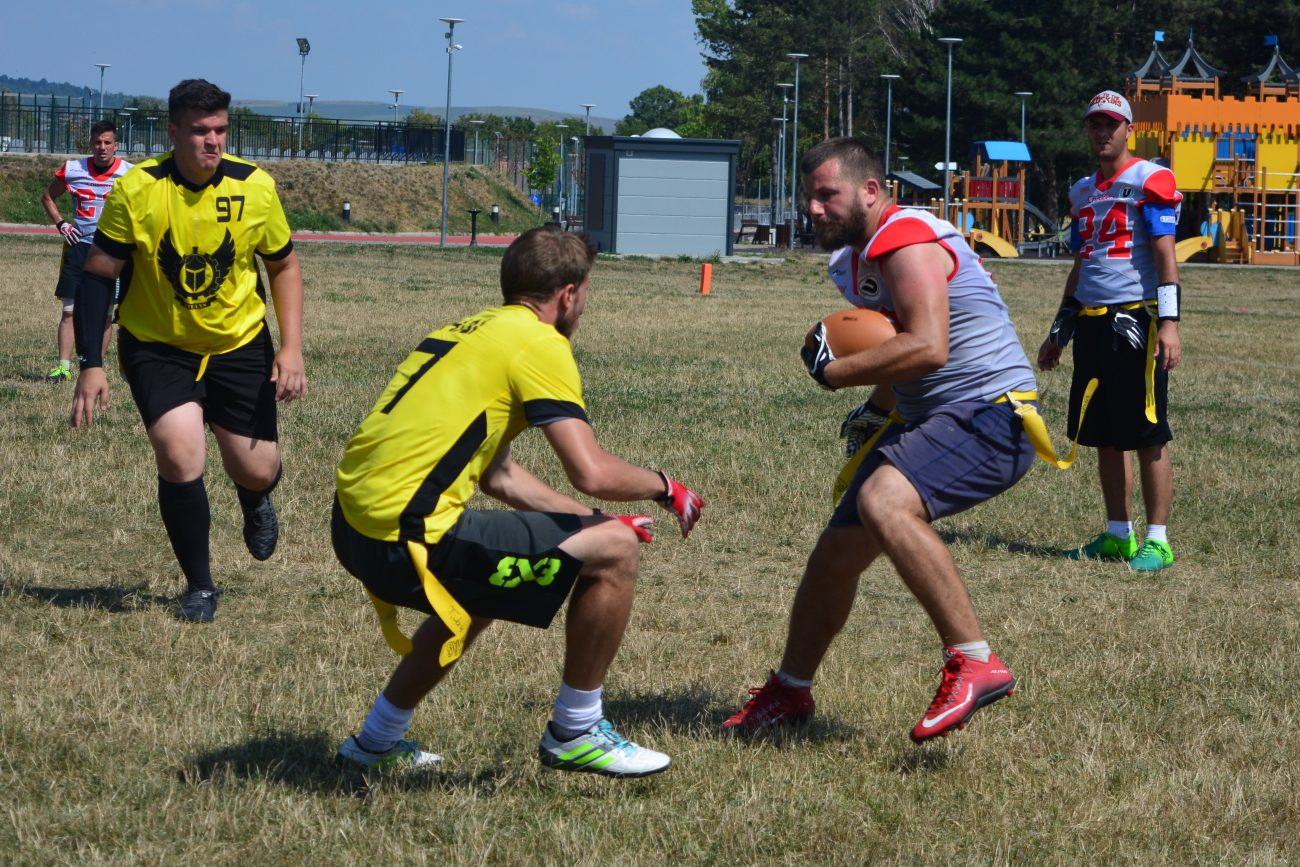 Cluj Crusaders Flag Football Challenge 2019 ziua 2