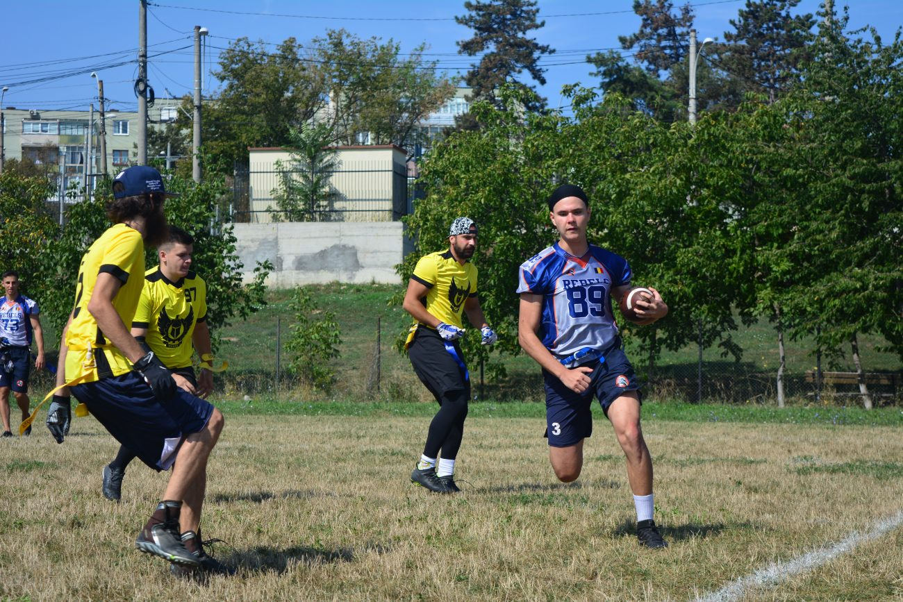 Crusaders Flag Football Challenge 2019 ziua 1